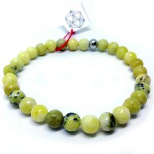 Bransoletka Zielony Jadeit
